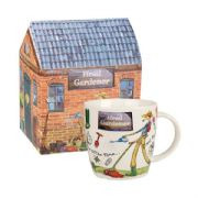 Churchill At Your Leisure Head Gardener Mug in Hatbox